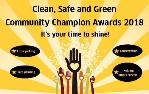 Community Champion Award 2018