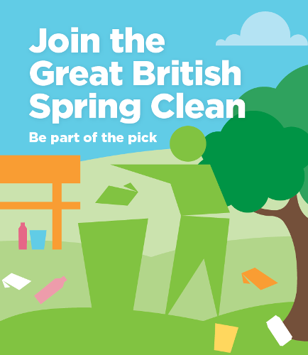 Great British Spring Clean 2019 logo
