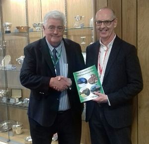 Cllr Graham Sutton (left) with Mike Devlin and the Grovehill Future Neighbourhood Plan