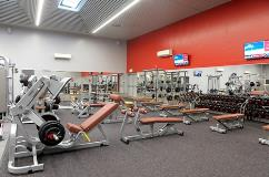Refurbished gym